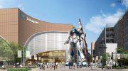 Гандам атакует: знаменитая франшиза готовит новые проекты и 20-метрового робота в японском порту